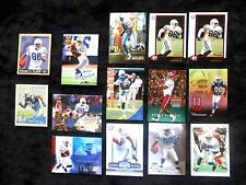Lot of  14 Indianapolis Colts Marvin Harrison Football Trading Cards - assorted