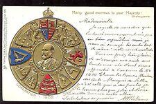 Royalty His Majesty King Edward VII Coronation Souvenir Tuck #610 vintage PPC
