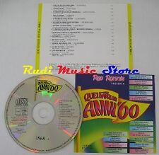 CD RED RONNIE favolosi anni 60 1968 4 DALLA LEALI NEW TROLLS GABER(C22)*NO*lp mc