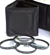 4PC HD CLOSE-UP MACRO LENS SET FOR SONY NEX-7 NEX 7 NEX7