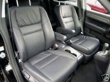 2007-2009 Honda CRV leather Interior Seat Covers- Black