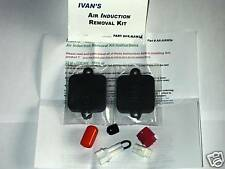 Kawasaki ZZR1400 Air Induction Removal Kit 2008 2009 2010 2011 2012 2013 Ivans