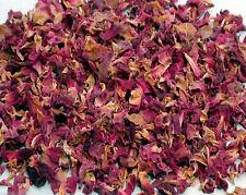 100g Sun Dried Rose Flower Petals Edible Natural Organic Soap Food Free Ship