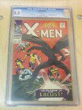 X-MEN 24 CGC 8.5 MARVEL 1966 (FIRST APPEARANCE OF LOCUST) SILVER AGE KEY