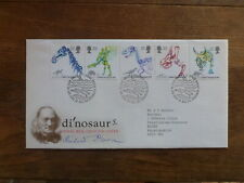 GREAT BRITAIN 1991 DINOSAURS SET 5 STAMPS FDC FIRST DAY COVER