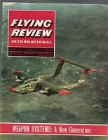Flying Review International Magazine June 1965 Weapon Systems TSR-2
