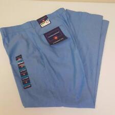 Saddlebred Blue Chambray Cotton Pants Straight Fit Mens sz 36 x 30 NWT