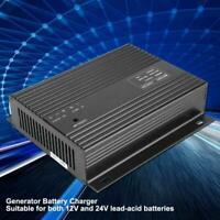 CH2810 12V-24V 10A Diesel Generator Genset Smart Intelligent Battery Charger X1