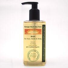 TEA TREE FACE, HAND & BODY WASH - New Dawn Organic Handmade Skin Care Products