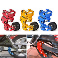 Adjuster Chain Tensioner Bolt On Roller Motorcycle Chopper ATV Pit Bike UK