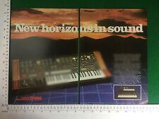 Yamaha CS-40M Synthesizer vintage pub 1981 Clavier Synthé Synthétiseur