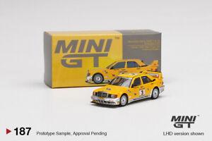 MINI GT 1:64 Mijo Exclusives Mercedes-Benz 190E Evolution II Camel