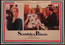 Fotobusta SCANDALO A PALAZZO 1984 CATHERINE DENEUVE, JEAN-LOUIS TRINTIGNANT DAC
