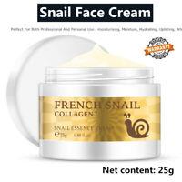 Moisturizing Whitening Snail Anti-aging Wrinkle Face Cream Firming Skin Care 25g