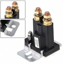 500A DC 12V Car Relay, High Current Starter Solenoid Relay 4 Pin SPST Car Auto S