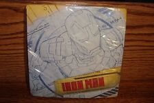 """MARVEL IRON MAN 3  Birthday Party 12 11/16"""" LG Lunch-Dinner Party NAPKINS 16 CT"""