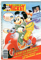 LE JOURNAL DE MICKEY n°1941 ¤ 1989 ¤ AVALANCHE / SPECIAL RENTREE