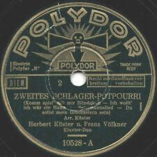 "78er Klavier-Duo Herbert Küster Franz Völkner ""2. Schlager-Potp. (Bindekuh u.a.)"