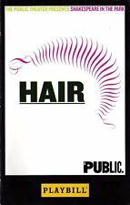 "Jonathan Groff ""HAIR"" Will Swenson / Patina Miller / Diane Paulus 2008 Playbill"