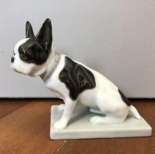 Superbe Figurine DOGUE Porcelaine Allemagne HEUBACH 1911 O.FISCHER