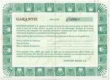 Rolex certificato di garanzia 5121461 Cosmograph Daytona Zenith 16520 acciaio vuoto