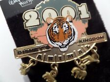 DISNEY PIN BINSX BE SURE TO VISIT A REAL TIGGER IN ANIMAL KINGDOM