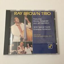 Ray Brown Trio -  Live At The Concord Jazz Festival 1979 CD Free Shipping