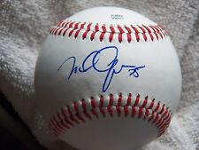 San Francisco Giants Mike Gerber Signed Rawlings Arizona League Baseball Auto