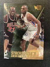 1995-96 Fleer Metal Stackhouse's Scrapbook Michael Jordan Insert #S-7