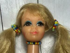 JEWELRY ONLY* necklace/hair bead vtg PJ New N Groovy/Sun Malibu 1969 Barbie Doll