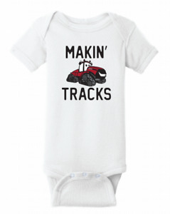 CASE IH- Makin' Tracks Bodysuit (6-month)