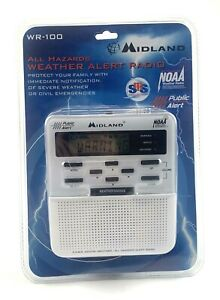 New Midland WR-100 NOAA All Hazards Weather Alert Radio AC Power Adapter