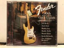 Fender 50th Anniversary Guitar Legends by Various Artists (CD, Oct-1996, Virgin)