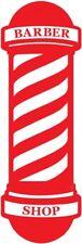 barbers shop window sign sticker barber pole vinyl graphic decal wall art door