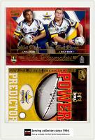 2005 Select NRL Power Predictor Card + Playmaker PM8 M. BOWEN/B. FIRMAN