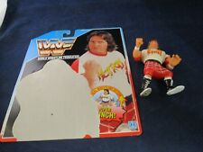 Official Wwf World Wrestling Federation Rowdy Roddy Piper Action Figure +Backing