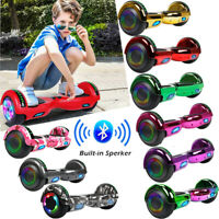"6.5"" Bluetooth Electric Hoverboard Motorized Self Balancing LED Scooter UL2272"