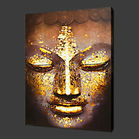 BUDDHA ETHNIC QUALITY CANVAS PRINT WALL ART READY TO HANG