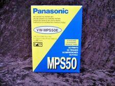Panasonic VW-MPS50E Ink Cassette / Paper Set MPS50 Standard 50 Prints NEW