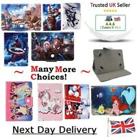 "Disney Boys & Girls Kids New Tablet Cover For Samsung Galaxy Tab E 8"" 9.6"" Case"
