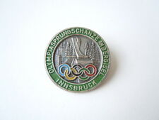 Vintage Anstecker Nadelplakette Olympia Sprungschanze am Bergisel Innsbruck 7,7g