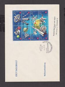 DDR - FDC -  Kleinbogen 1636/43