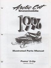 1996 Arctic Cat Snowmobile Puma 2-Up Parts Manual P/N 2255-300 (727)
