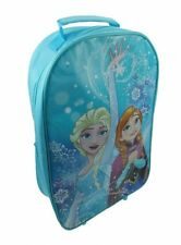 Disney Frozen Northern Lights School Bag Travel Trolley Wheels Folding Handle