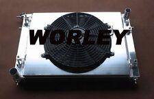 Aluminum radiator + shroud + fan for HOLDEN  VN VG VP VR VS V6 3.8L