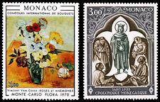 Monaco Scott 766, 767 (1970) Mint NH VF