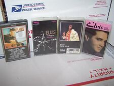LOT OF 4 Elvis Presley  Cassette Tapes  - ALL 4 IN VERY GOOD CONDITION