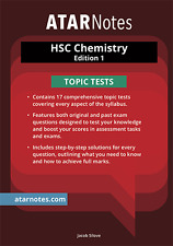 HSC Chemistry Topic Tests