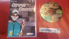 CHIRURGIE SIMULATOR PC CD ROM PAL