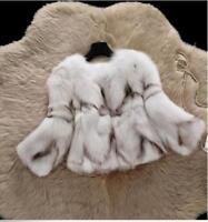 Chic Faux Fox Fur Women Coat Luxury Warm Winter Sweet Parka Short Jacket Winter